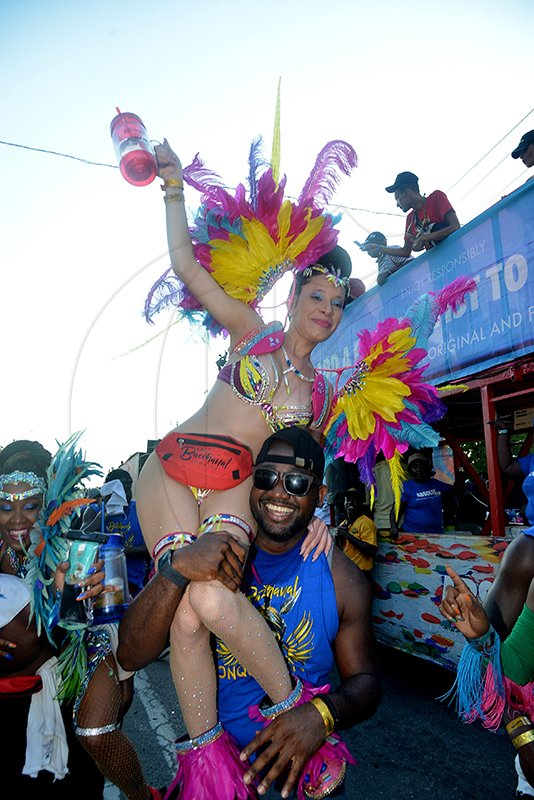 Bacchanal Carnival Road March 15