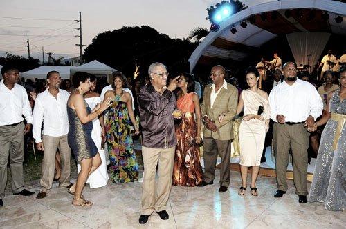 Rod manley wedding