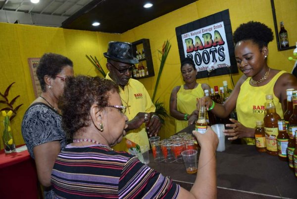 Rudolph Brown/ PhotographerBAba Roots give samples of their roots at the JEA JMA Expo Jamaica at the National Indoor Sports Centre and the National Arena on Sunday April 22, 2018