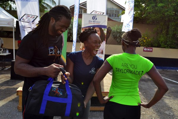 Scenes from Fit 4 Life season 3 kick off held at the Gleaner on Saturday, September 21,2019.