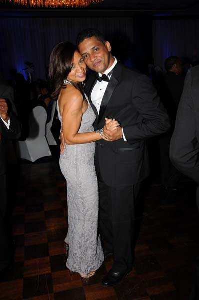"Winston Sill/Freelance Photographer The Jamaica Chamber of Commerce (JCC) Civic Affairs Committee present its annual Grand Charity Ball, under the theme ""Dream the Possible  Dream"", held at the Jamaica Pegasus Hotel, New Kingston on Saturday night November 2, 2013. Here is Flow's Denise Williams and husband."