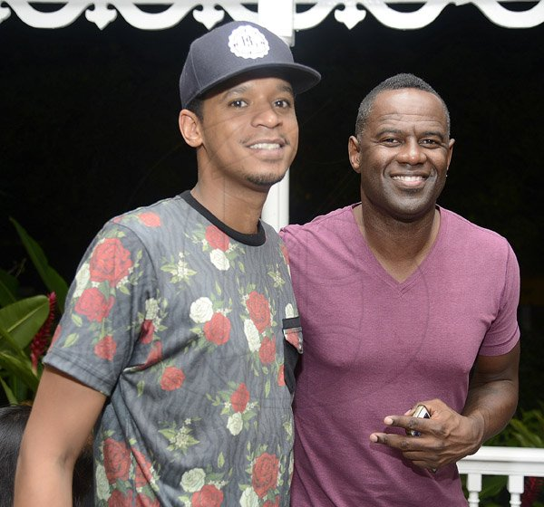 Gladstone Taylor / Photographer   Chef Roble and Brian McKnight as seen at KGN Kitchen, Signature Series held at the Guilt restaurant, Devon House, Kingston on friday night