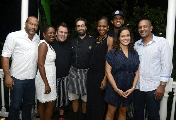 Gladstone Taylor / Photographer   KGN Kitchen, Signature Series held at the Guilt restaurant, Devon House, Kingston on friday night