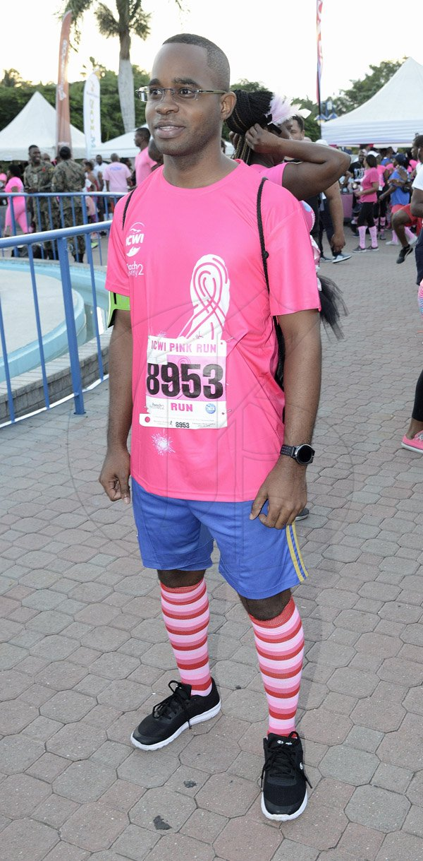 Ian Allen/Photographer ICWI 4th Annual Pink Run in aid of Breast Cancer Awareness.