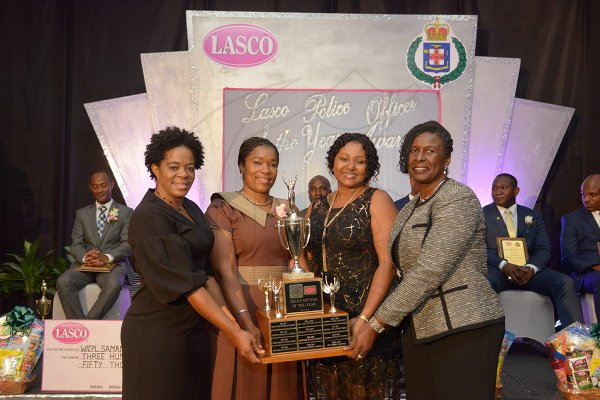 Jamaica GleanerGallery LASCO/JCF Police Officer of the Year