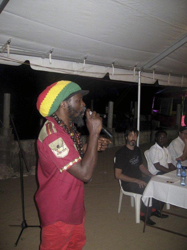Jamaica GleanerGallery|Rebel Salute 2016|Mel Cooke<\n>Ras Takura
