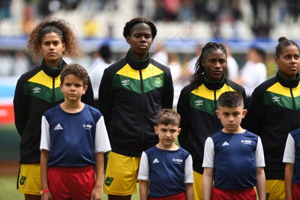 Jamaica vs Brazil in the FIFA Women's World Cup 2019