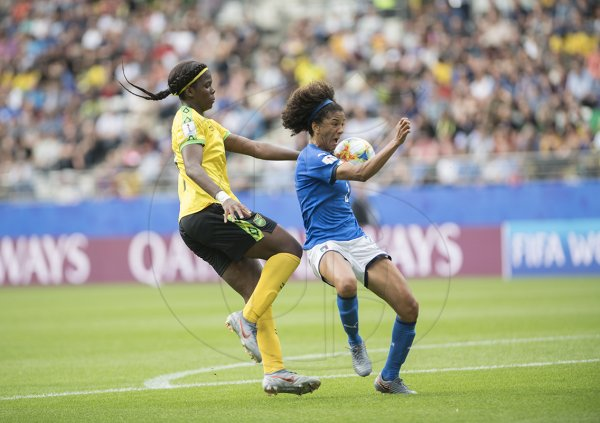 Jamaica vs Italy in the FIFA Women's World Cup 2019