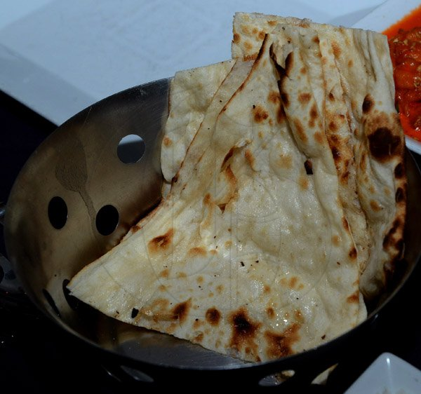 Winston Sill/Freelance Photographer   Naan, a type of Indian bread
